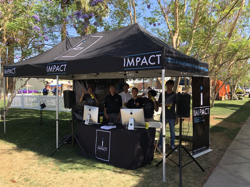 IMPACT at the Indio Block Party