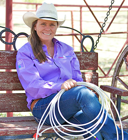Lari Dee Guy   Lari Dee Guy trains roping horses at her family's ranch in Abilene, Tx. Lari Dee is a world renown roping clinician. She also continues to be a dominant force in the roping industry.    www.LariDeeGuy.com