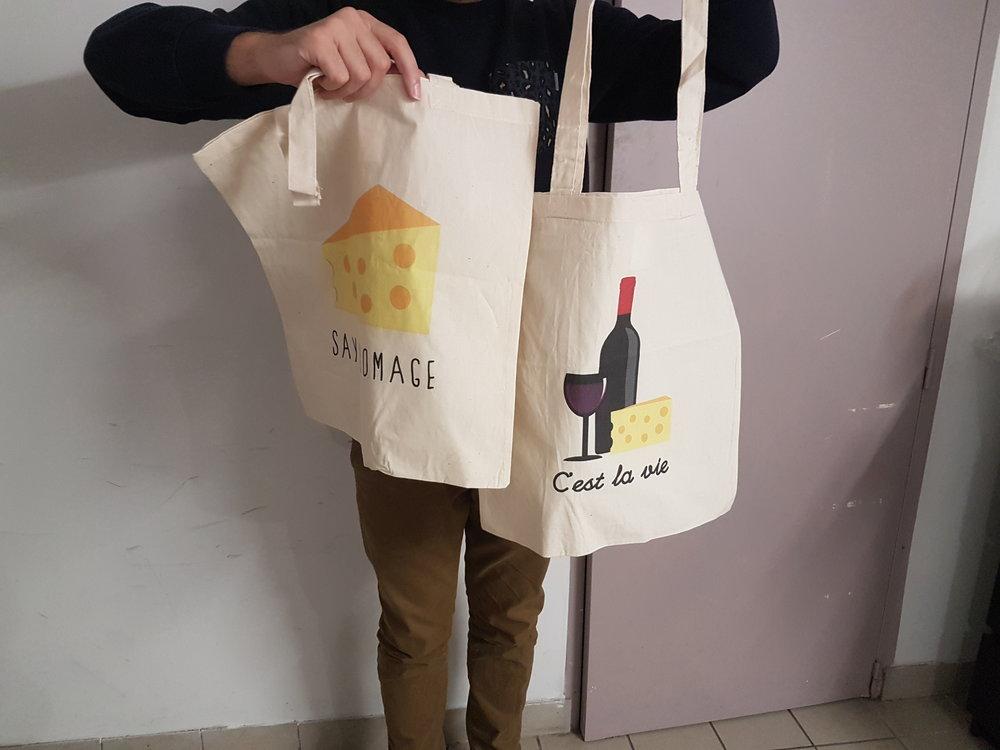 impression tote bag bio rennes bretagne france textile sac qualité personnalisé
