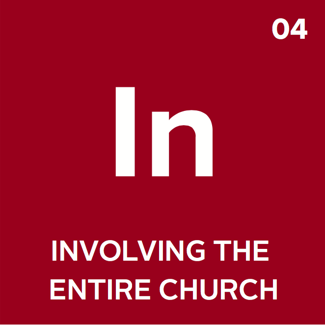 The church builds a strategy that employs a variety of ways to strategically and incarnationally fulfill the vision.