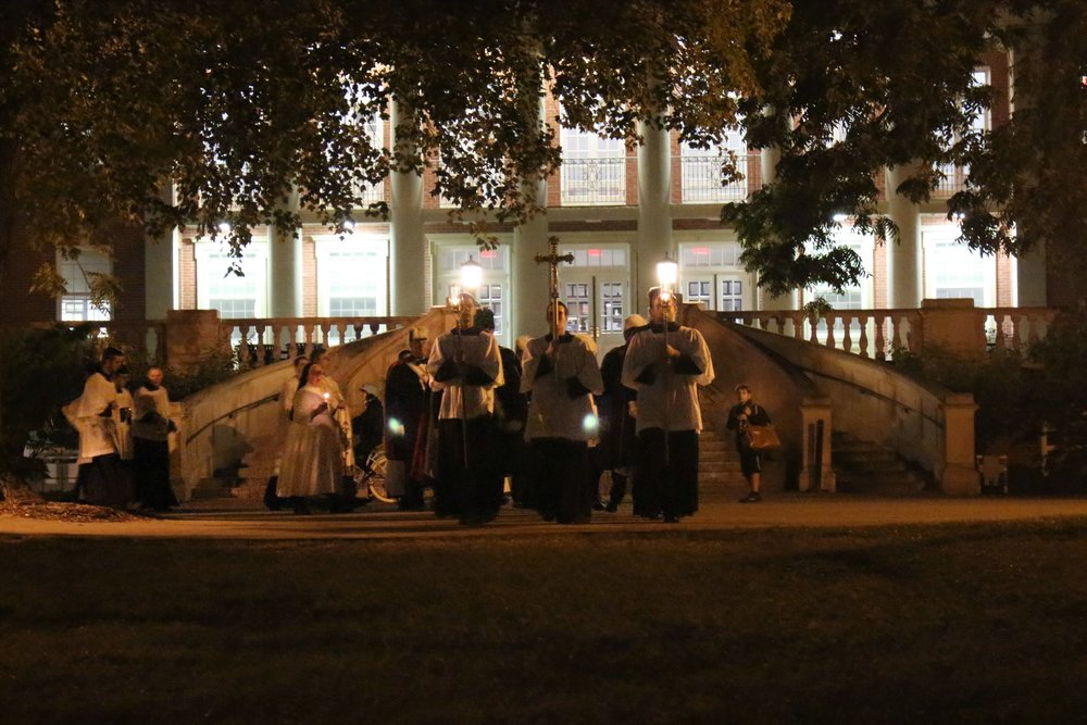 Eucharistic Procession Fall 2017