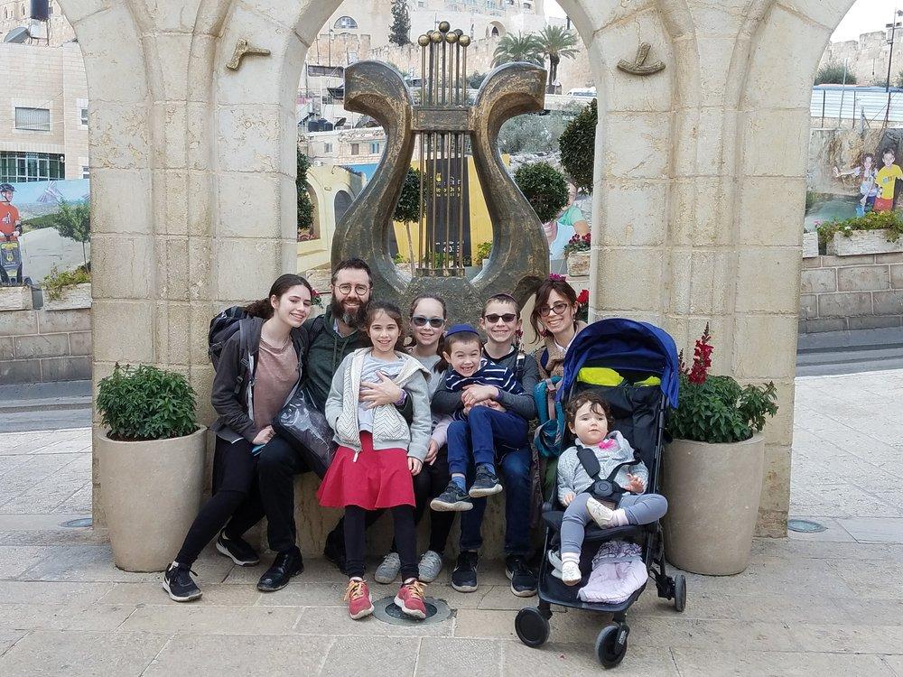 The Crayk Family at Ir David