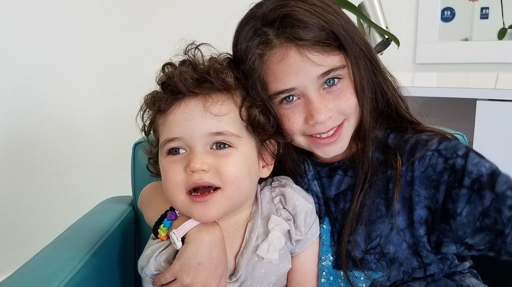Mushka-- Super big sister to Charna