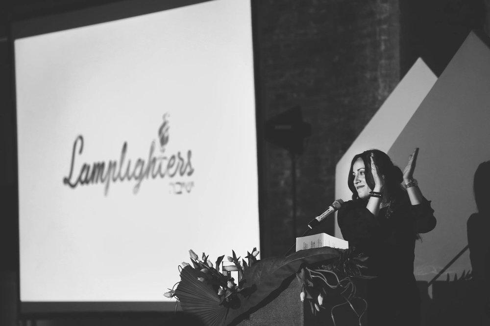 Yocheved speaks at HIGHlight Gala