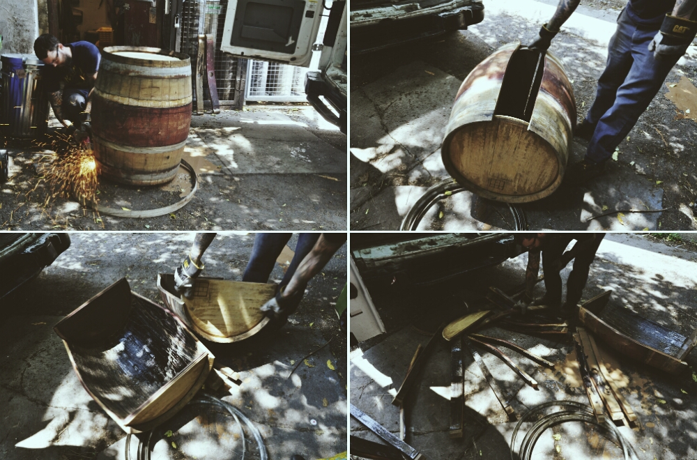 decommissioning a barrel