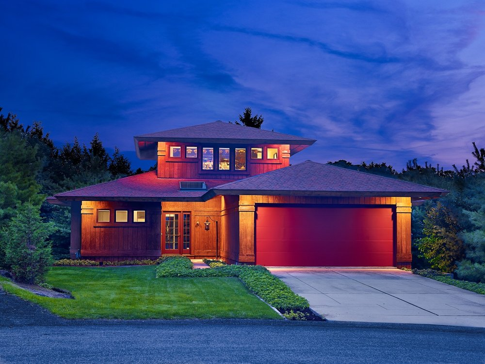 Exterior - Nighttime Front House View.jpg