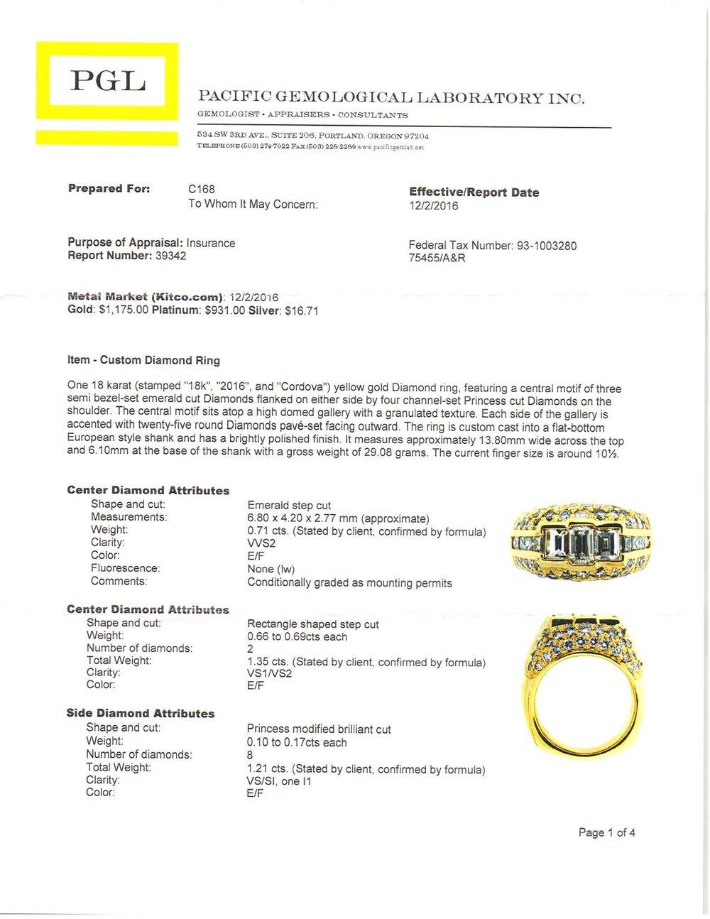 18k yellow gold and diamond mens ring appraisal.jpg