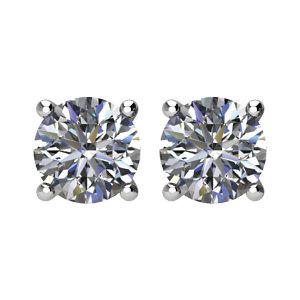Third of a Carat (1 3ct) Diamond Stud Earrings — Abbot   Rinehart ... 5338e7282