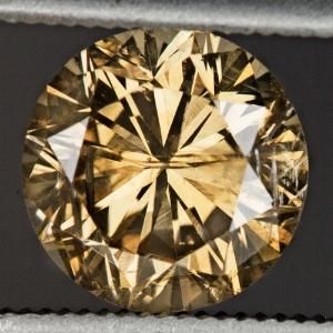 1.63ct Round Diamond, I2, Fancy Brown, GIA - eBay