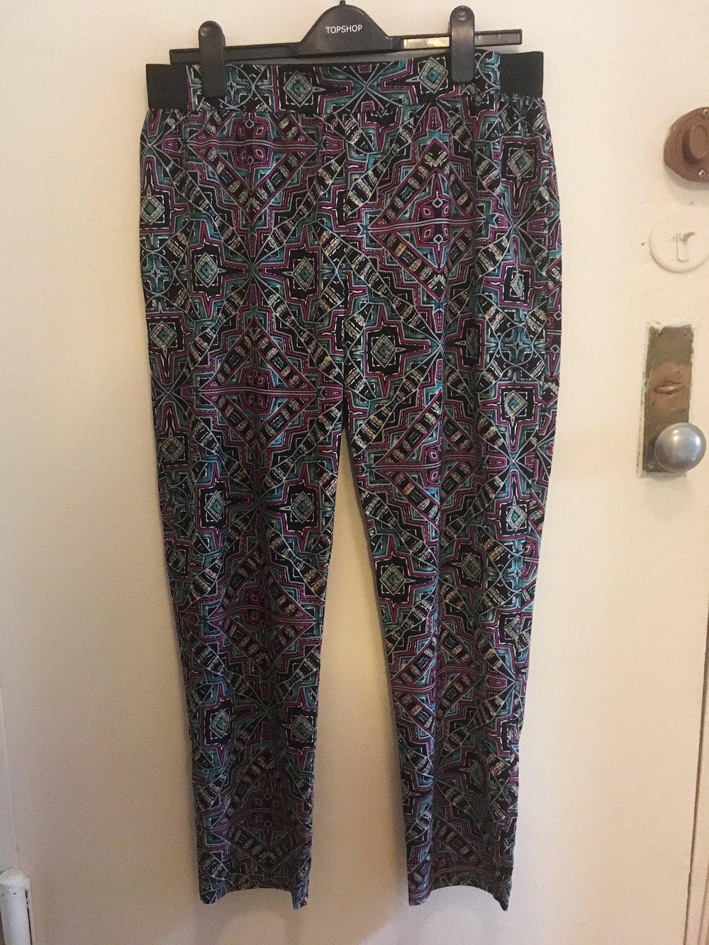 Print Pants, $10