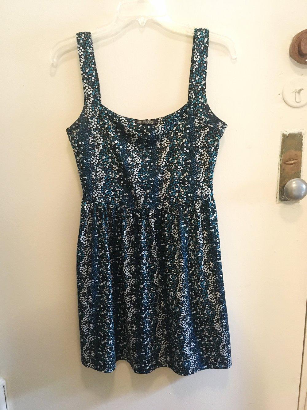 Floral A-Line Dress, $15