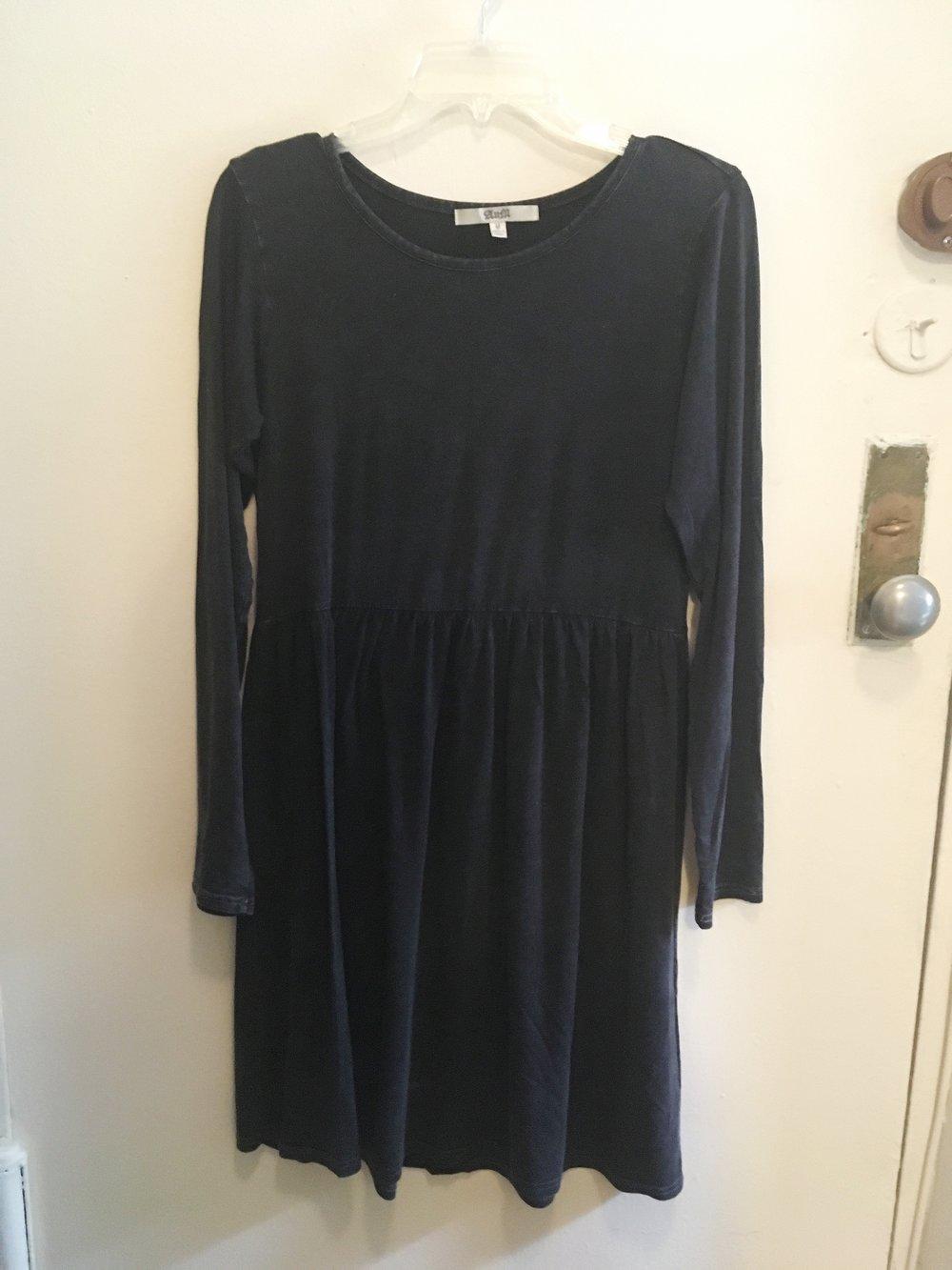 Charcoal Sleeve Dress, $15