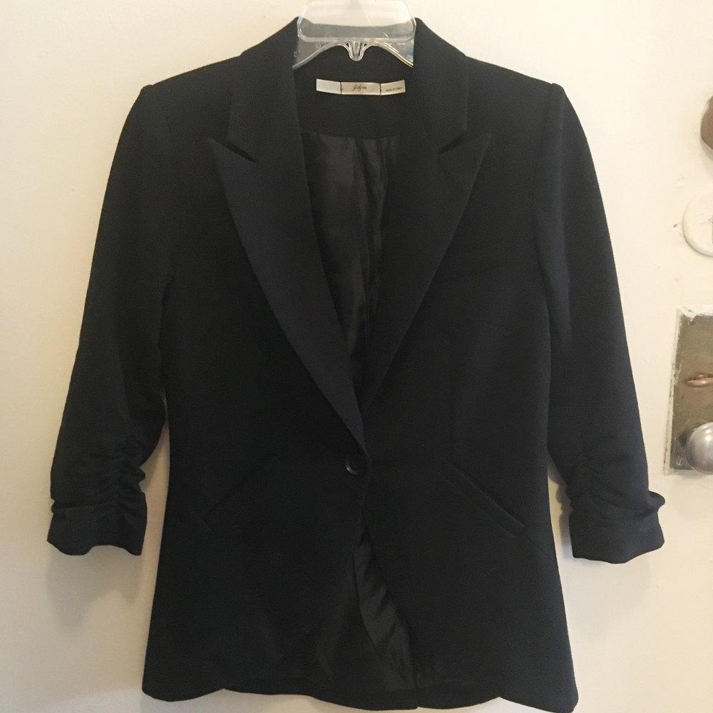 Black Blazer, $25