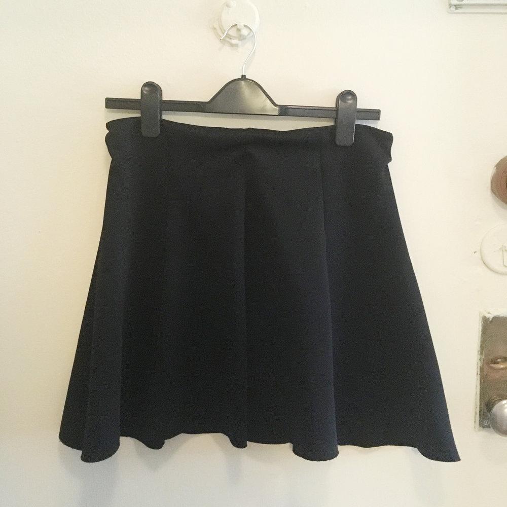 Black Skirt, $15