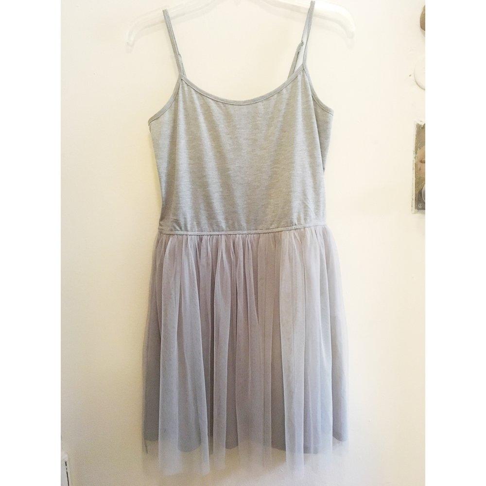 Tulle Dress, $15