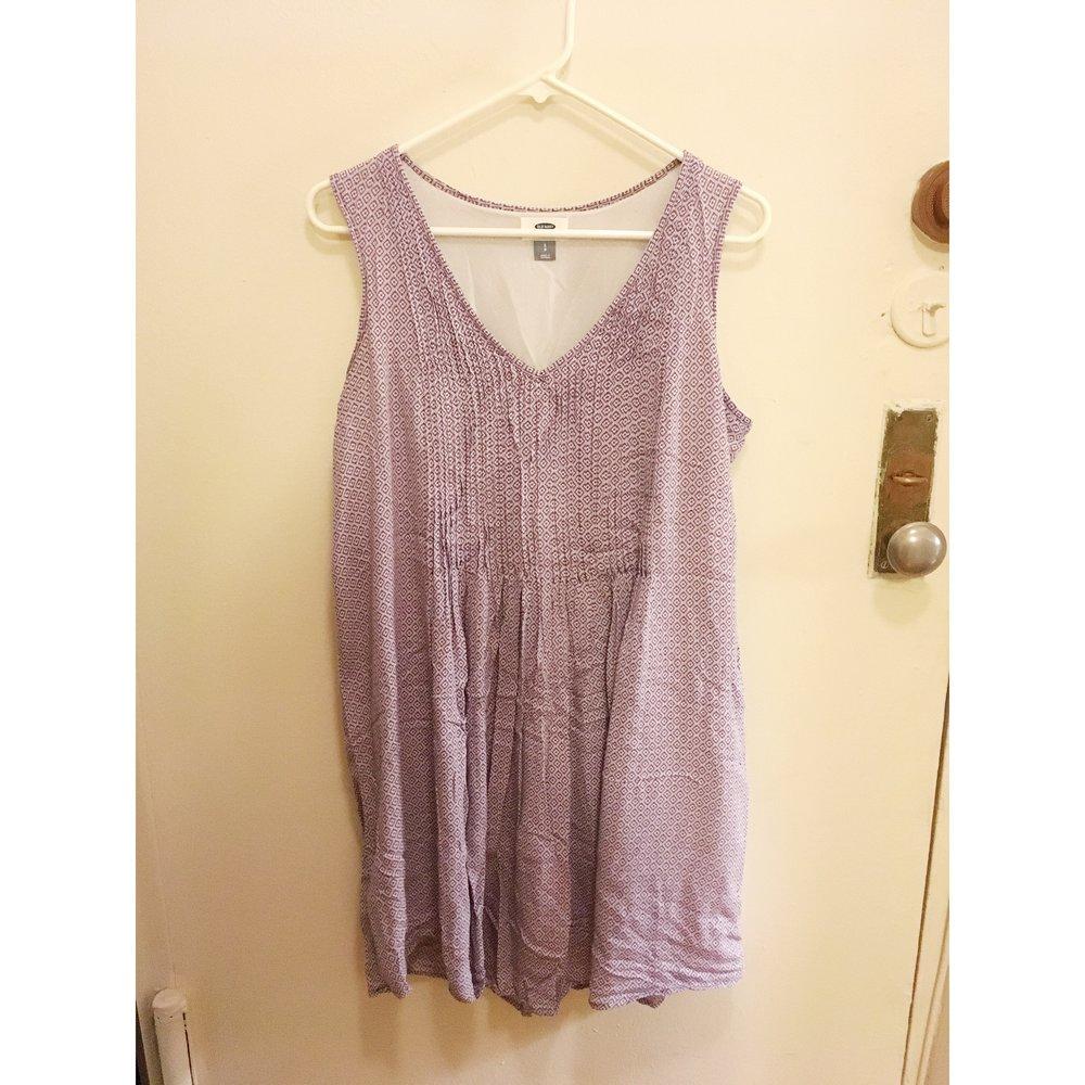 Patterend Dress, $10