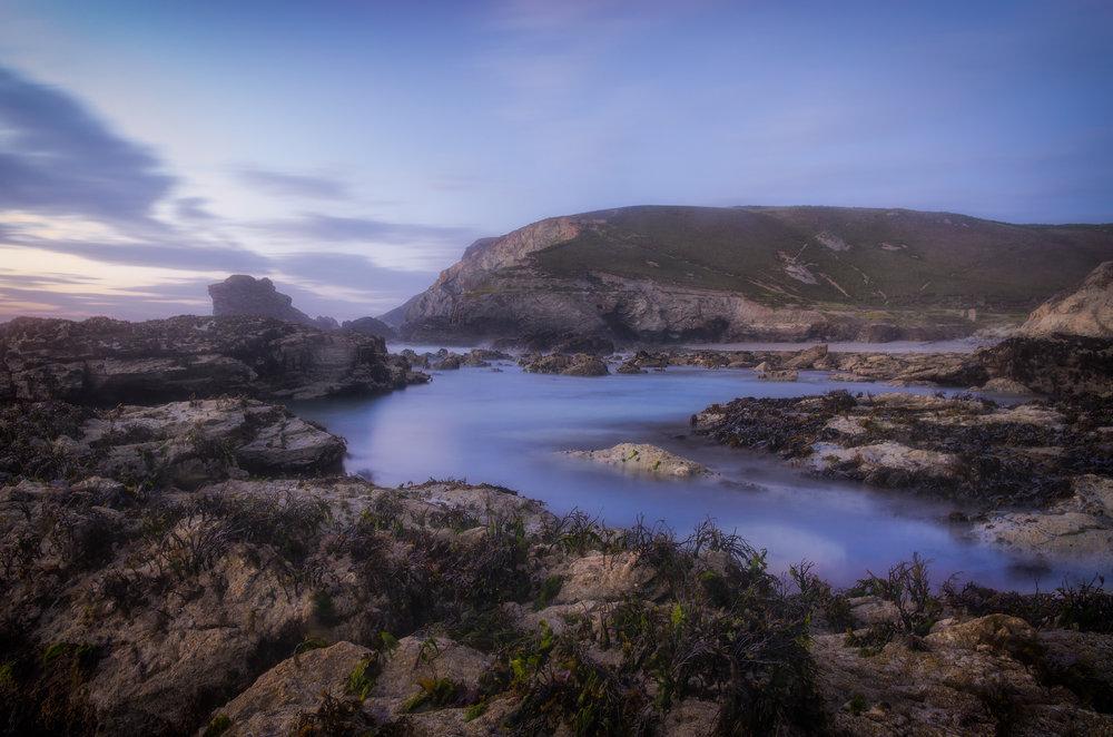 Trevellas porth blue flickr.jpg