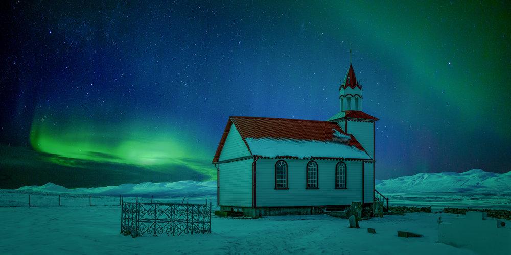 Hofstadir Church