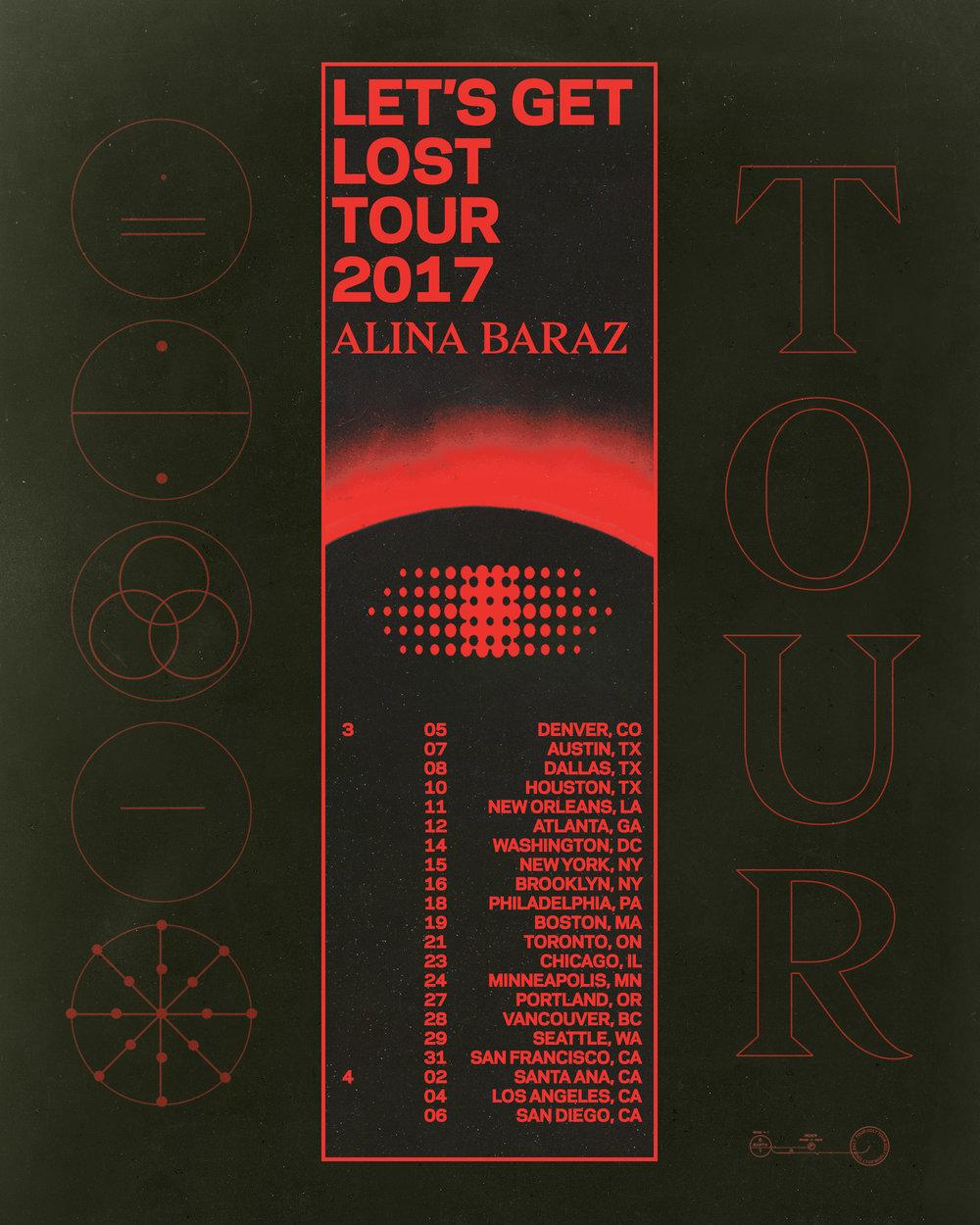 Alina Baraz Tour