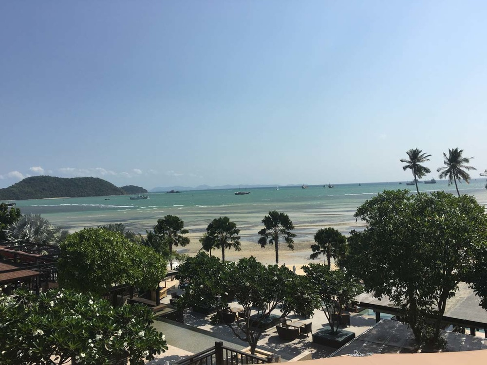 View from our room in Phuket, Thailand