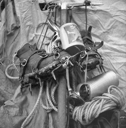 1930s Mountain Climbing Gear