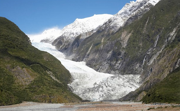 Franz Josef Glacier by Alamy