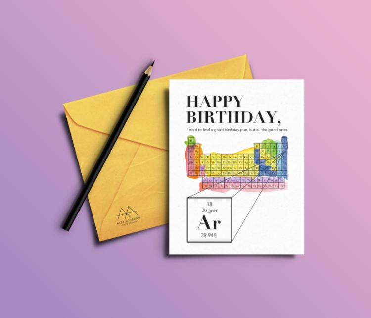 Greeting Card Illustration Design Alex Ahearn Art Design