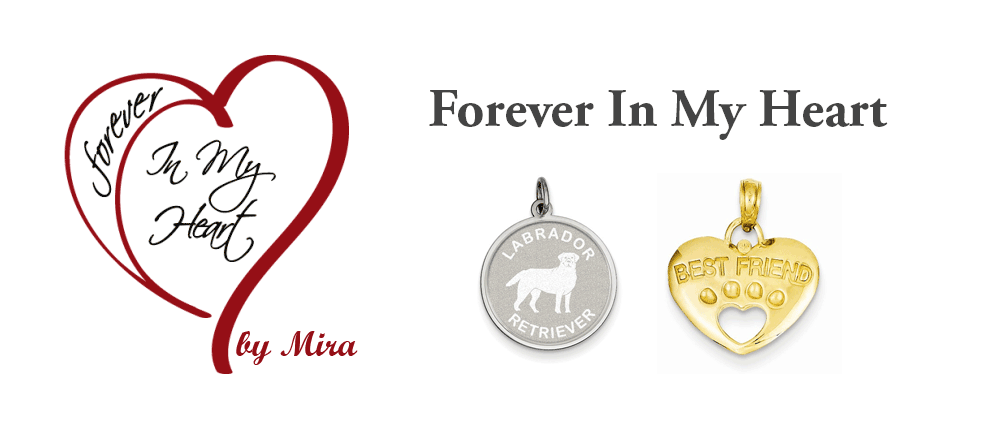 Whether it be your pet crossing the Rainbow Bridge or a friend or relative moving onto the afterlife, the Forever In My Heart Jewelry line provides a unique way to remember those who have moved on. Their love of animals has not only inspired a line of pendants but gives back by donating 40% of all profits to LLL. Be sure to choose us as your charity of choice when you make your purchase.