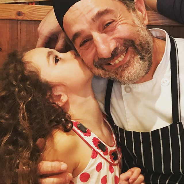 Sometimes a kiss is all you need to make your Monday! #kissachef #sicily #murrayhill #italiansinnewyork #italianfood #authenticitalian #bossday #sicilianfood