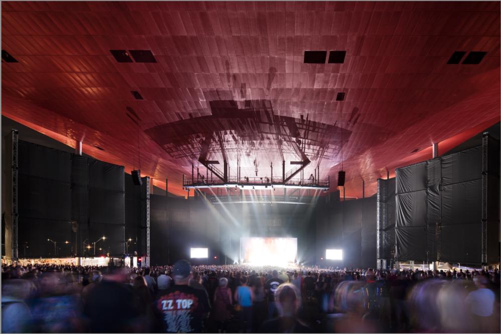 Spectacle de ZZ Top en août 2015. Crédit photo © Adrien Williams