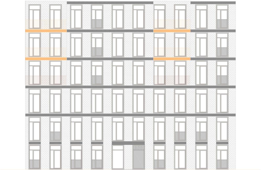 6 étages = densité 3.52