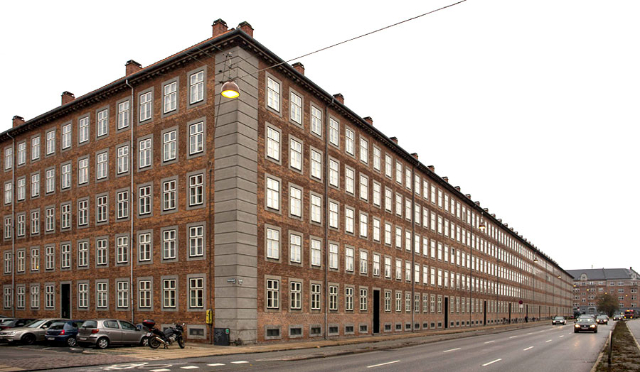 Habitation Hornbaekhus, Copenhague, 1922
