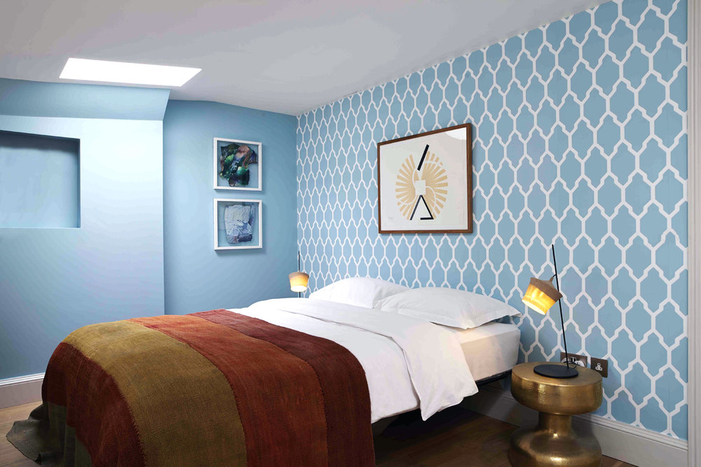 "2014   LIBRARY HOTEL LONDON    ""It's a hotel  , bar, event space and private members' club for guests wanting a comfortable, refined and clever time out."""