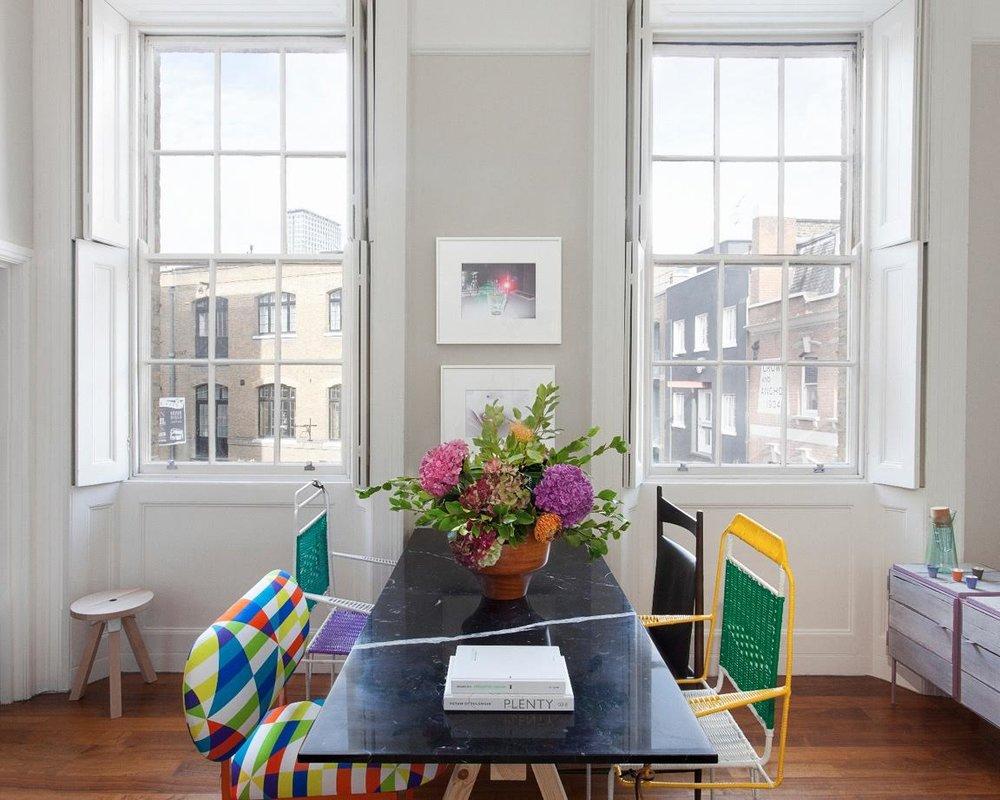 """[PROJECT ENTRY COMING SOON]   2013   PRIVATE HOME LONDON   """"Поэтому предметы для галереи отбираются по двум признакам: они должны быть инновационными или сделанными из вторично использованных материалов. 'Меня всегда привлекали дизайнеры, которые не боятся экспериментировать'"""" - Architectural Digest Russia"""
