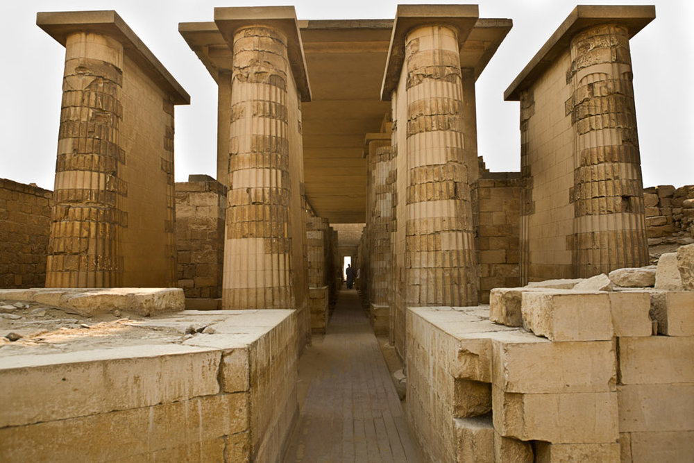 The 7 portals of the pyramid of Saqqara