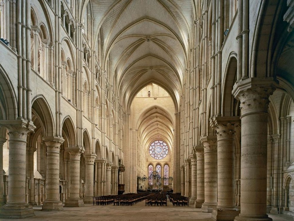The 7 portals of the Cathedrale de Chartres