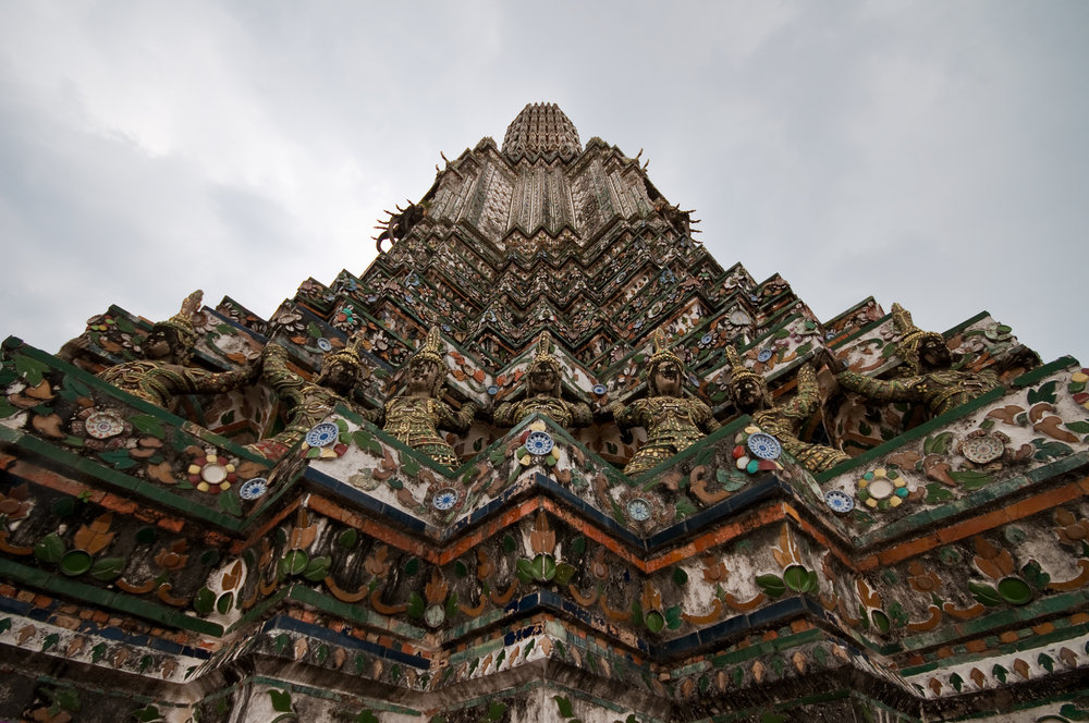The temple of Wat Arun in Bangkok