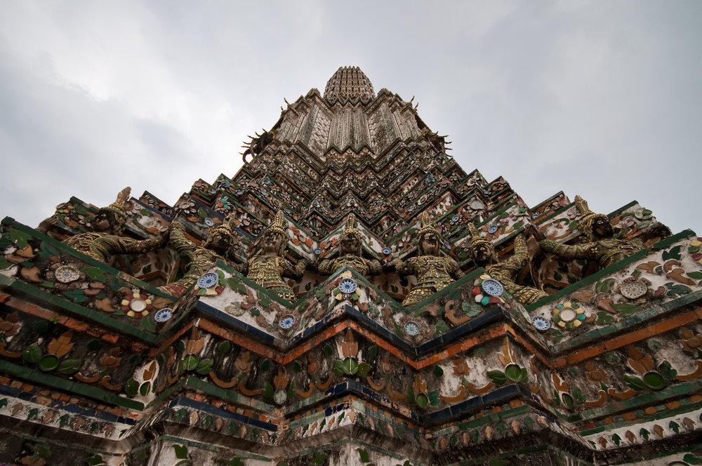 The temple of Wat Arun in Bangkok