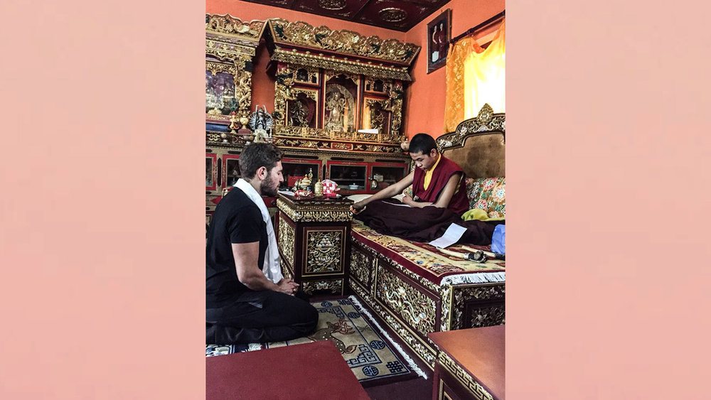 I later converted to Buddhism whilst in Nepal, marking the beginning of a new path: wanting to be the best version of myself.