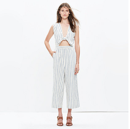 Perfect fabric and starting point from Madewell