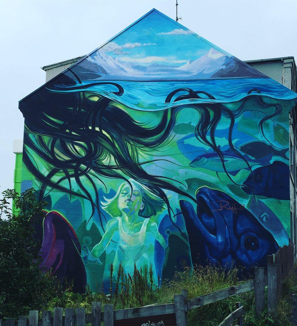 Street art in Reykjavik