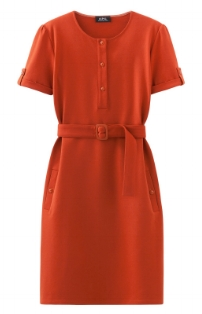 This dress from  APC  reminded of the film, and I'm planning to wear it with a pair of yellow leather heeled sandals.