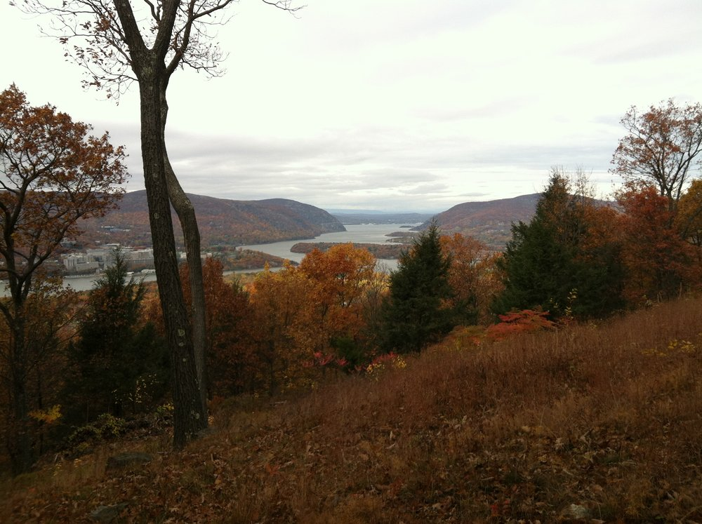 View of the Hudson Valley with Storm King Mountain