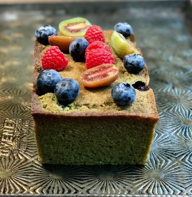 Matcha Berry Cake - from Chef Vanessa Musi