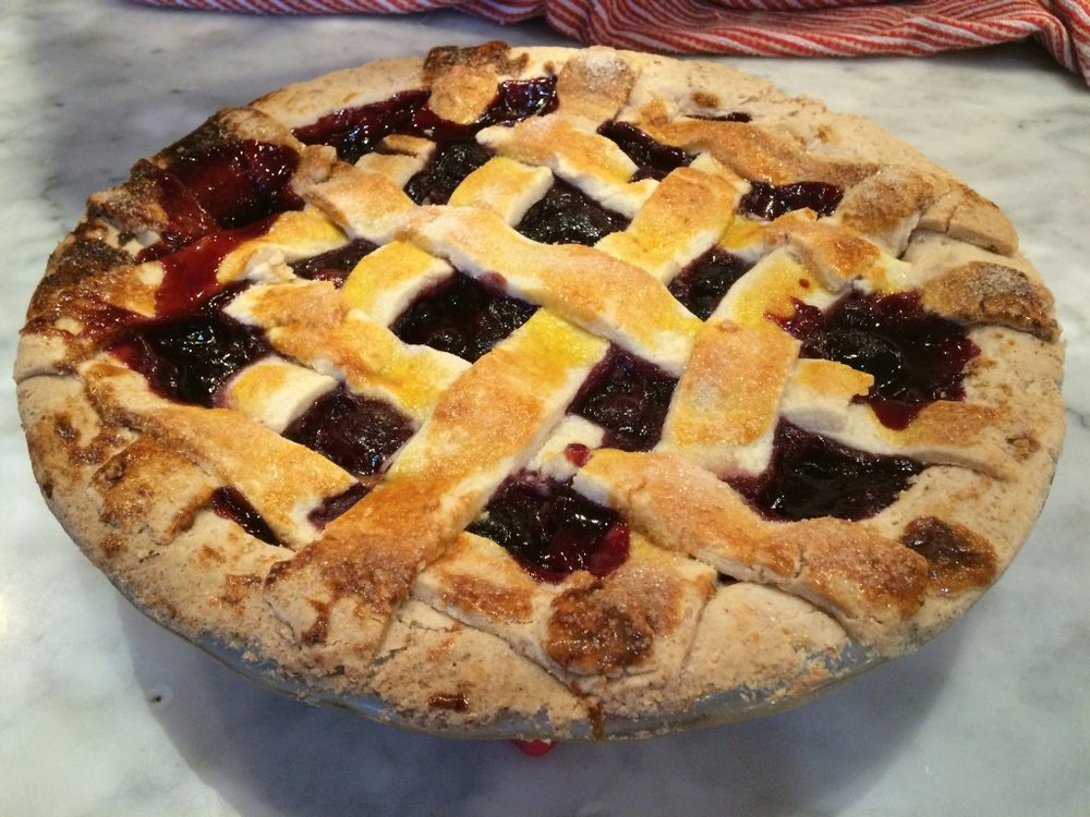 paleo & gluten-Free Cherry Pie - from Paleomazing.com