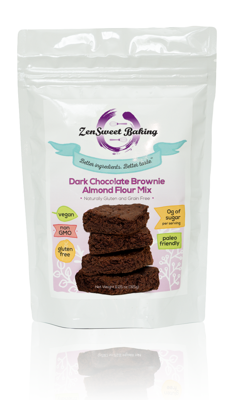 ZenSweet Baking Dark Chocolate Brownie Mix