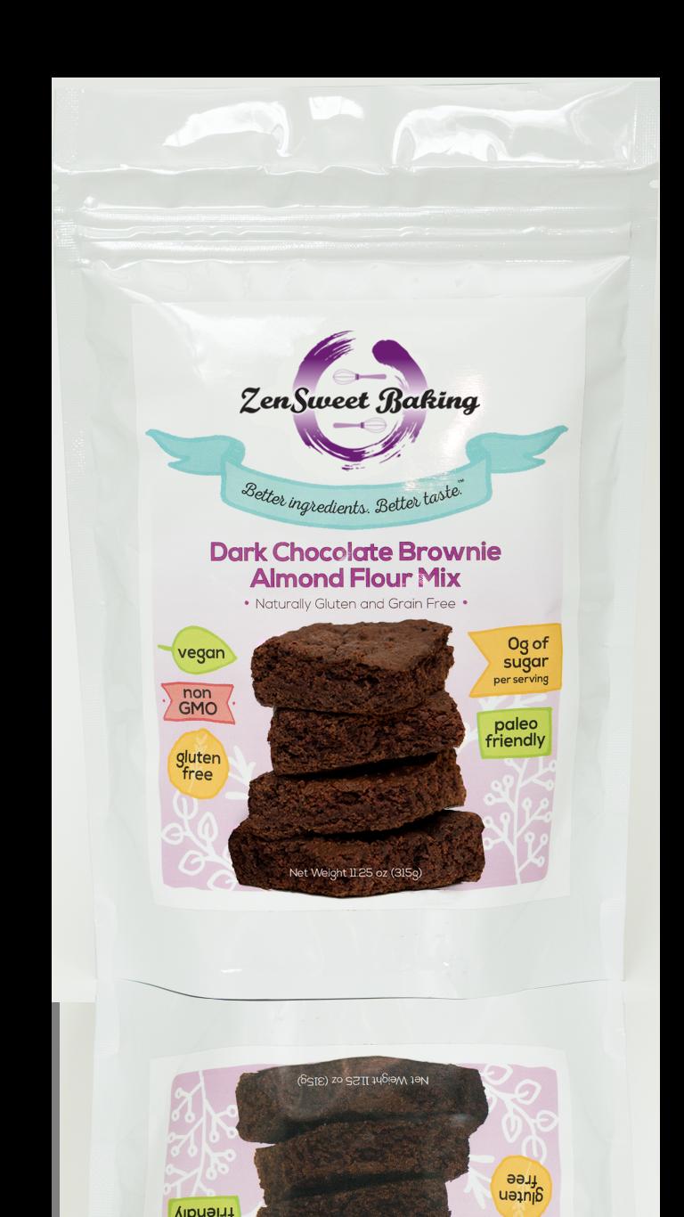 ZenSweet Baking Dark Chocolate Brownie Mix