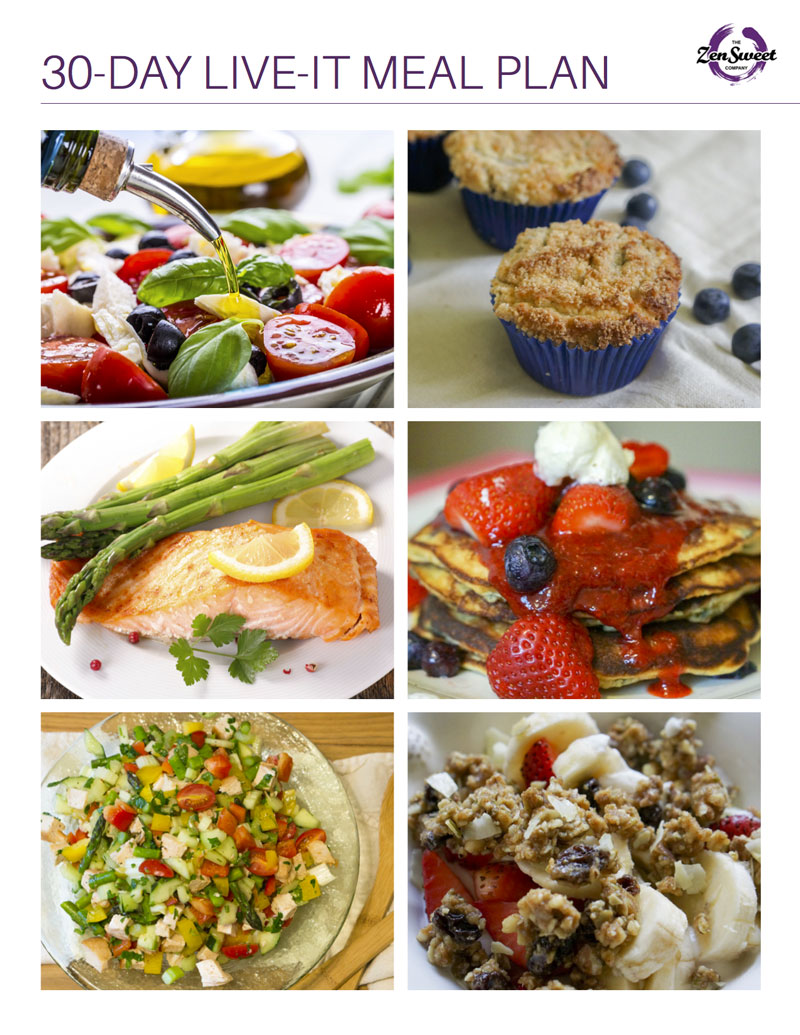 The All-New 30 Day Meal Plan ebook is here! - 40 original & easy-to-make recipes that are low-carb, paleo friendly and have no sugar added!