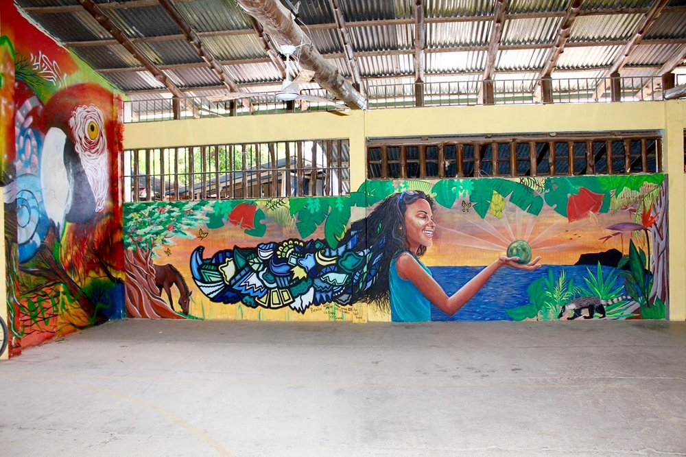 The final mural