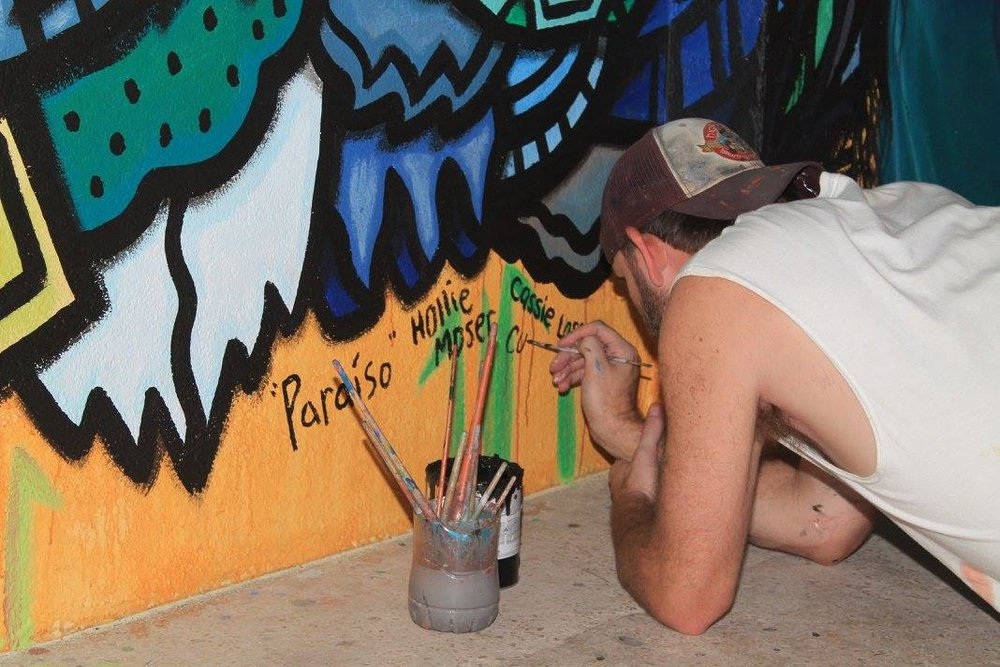 Artist Curtis Glover signing off